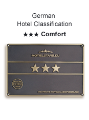 German Hotel Classification three Stars Comfort